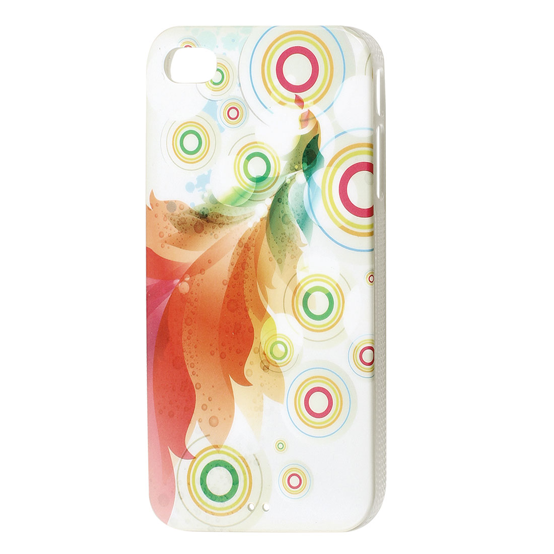 Phoenix Circle Pattern Hard Back Case Cover for iPhone 4 4G 4S 4GS 4th Gen