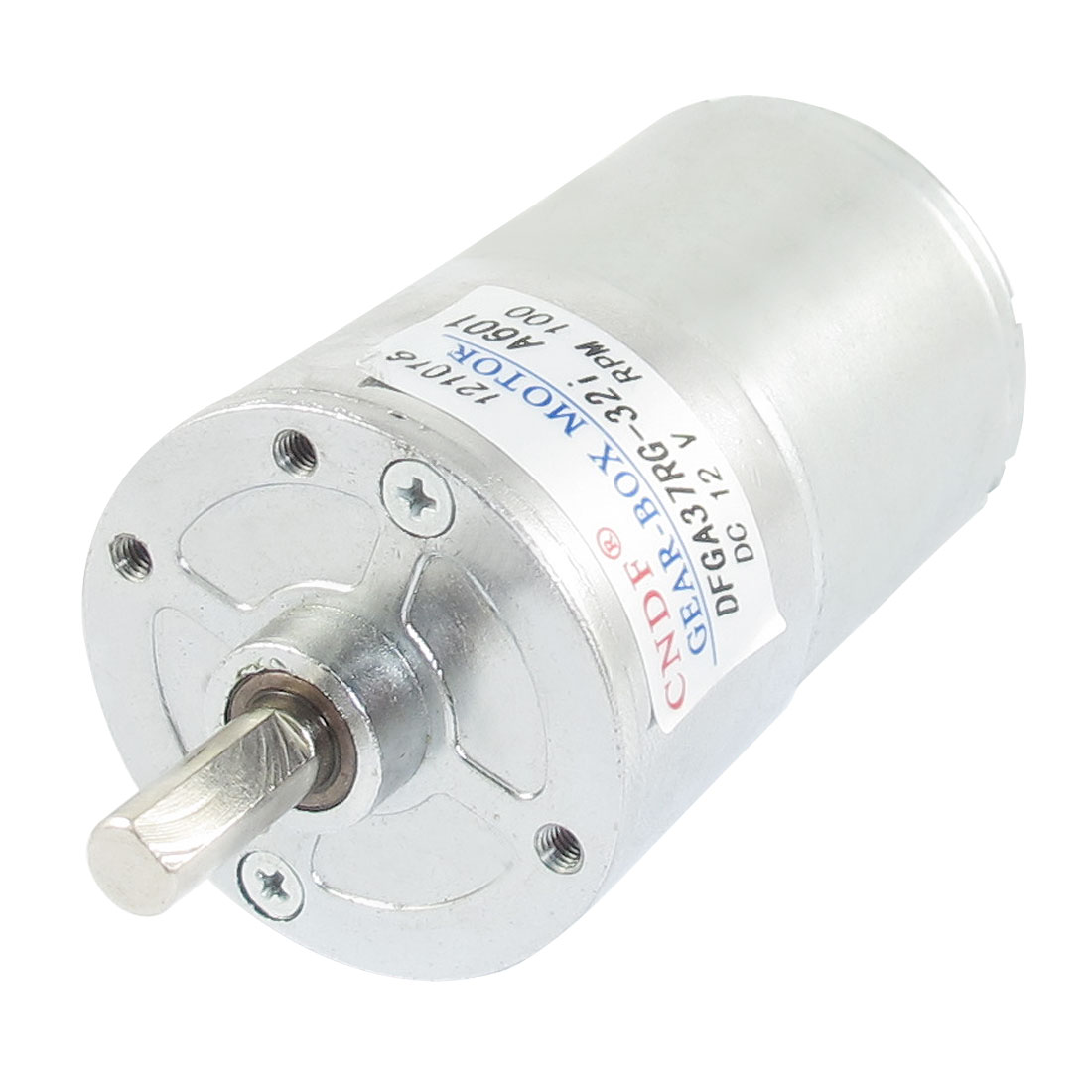 DC 12V 100RPM Output Speed Cylinder Shaped Oven Geared Motor