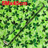 Home Dark Green Leaf Pattern Decorated Adhesive Wall Sticker Roll 5Mx45cm