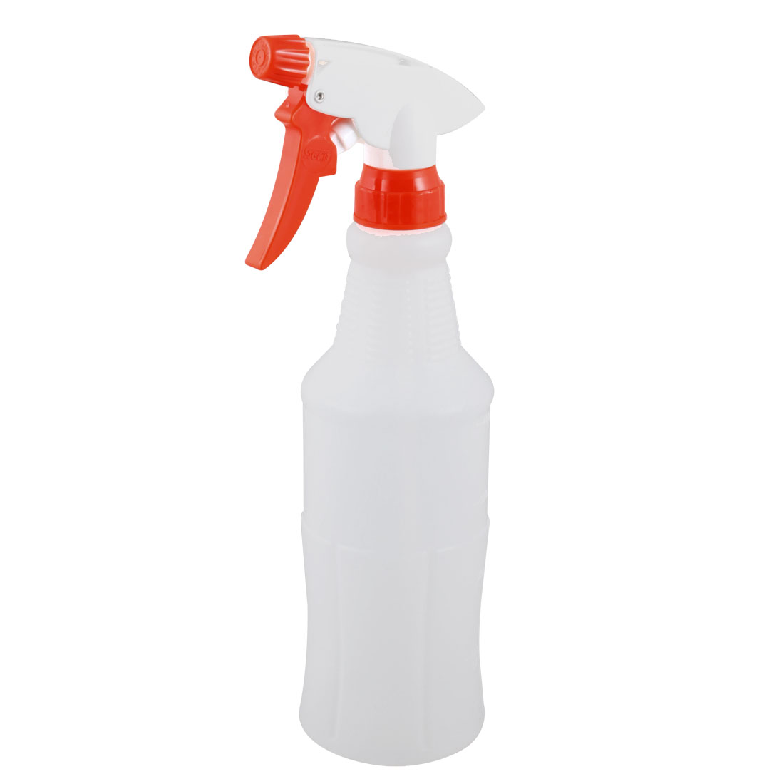 Household Plastic Plant Watering Trigger Spray Bottle Sprayer 500ml White Red