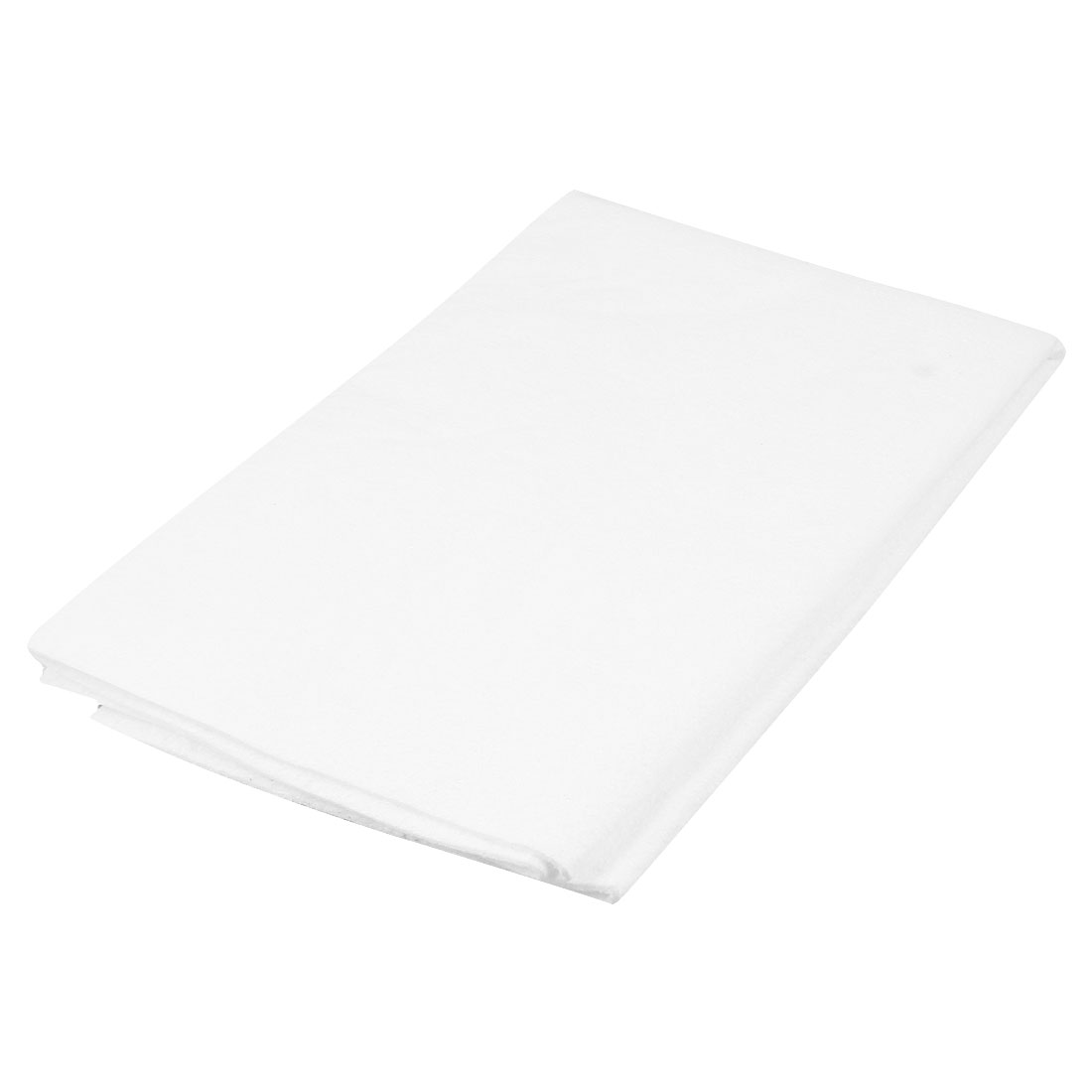 Car Washing White Microfibre 50cm x 60cm Rectangular Towel