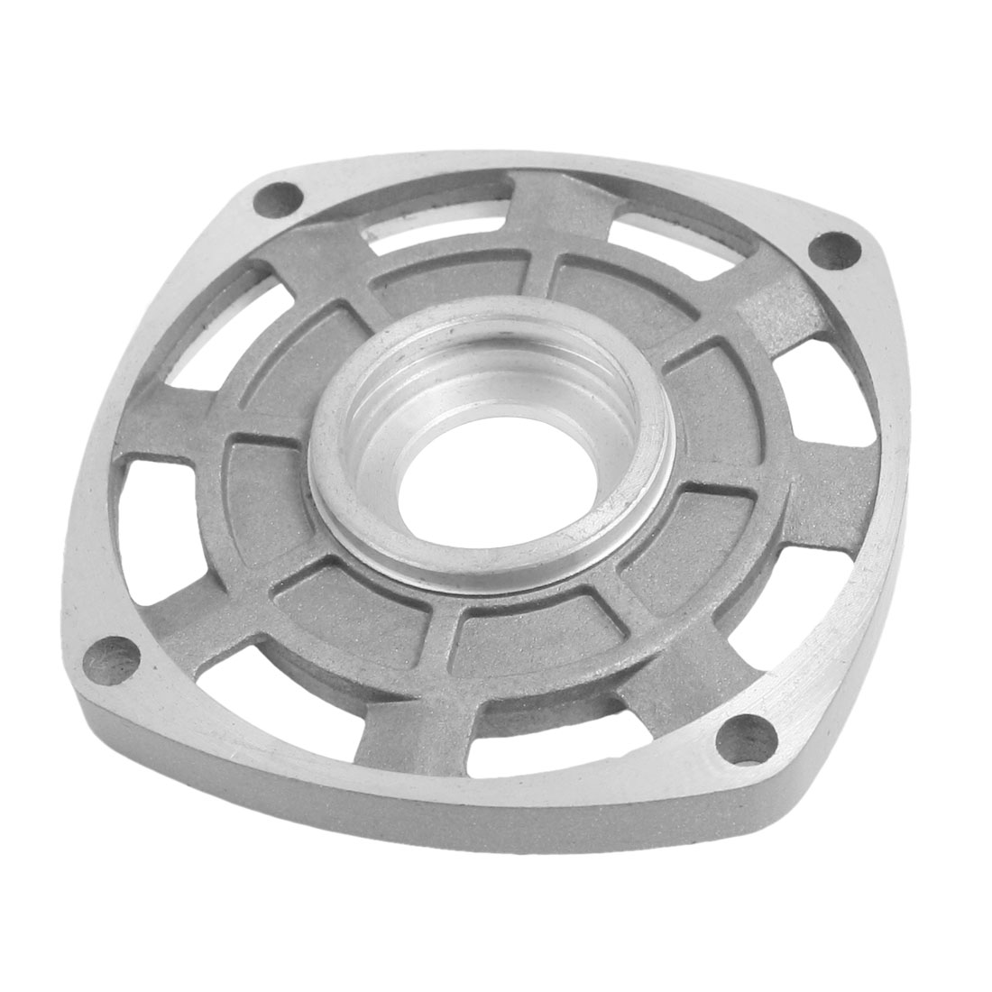 Silver Tone Aluminum Component Cover for Makite 9553NB 9556NB Angle Grinder