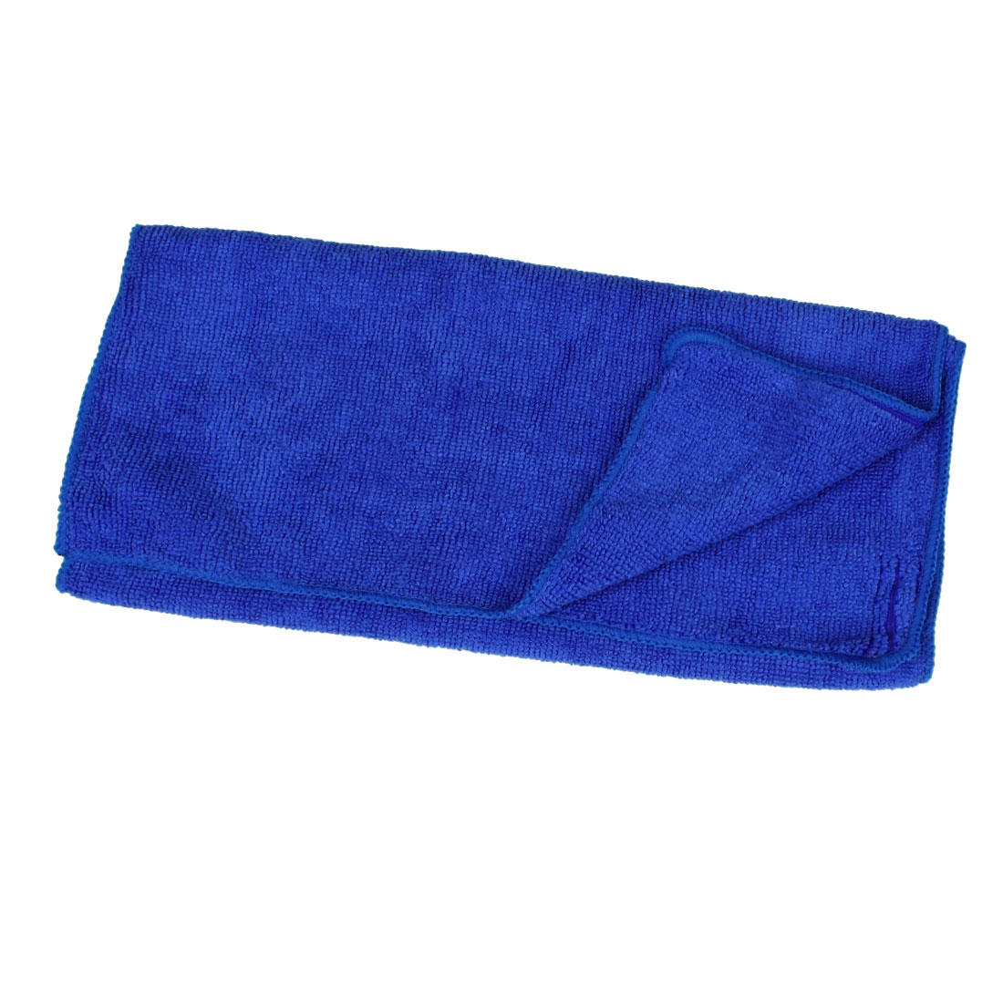 Blue Rectangle Shape Soft Terry Cleaning Towel for Car Truck