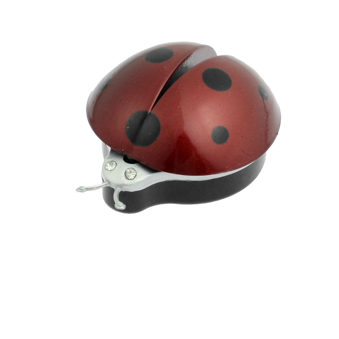 Car Air Vent Ladybug Design Fragrance Purifier Freshner Dark Red