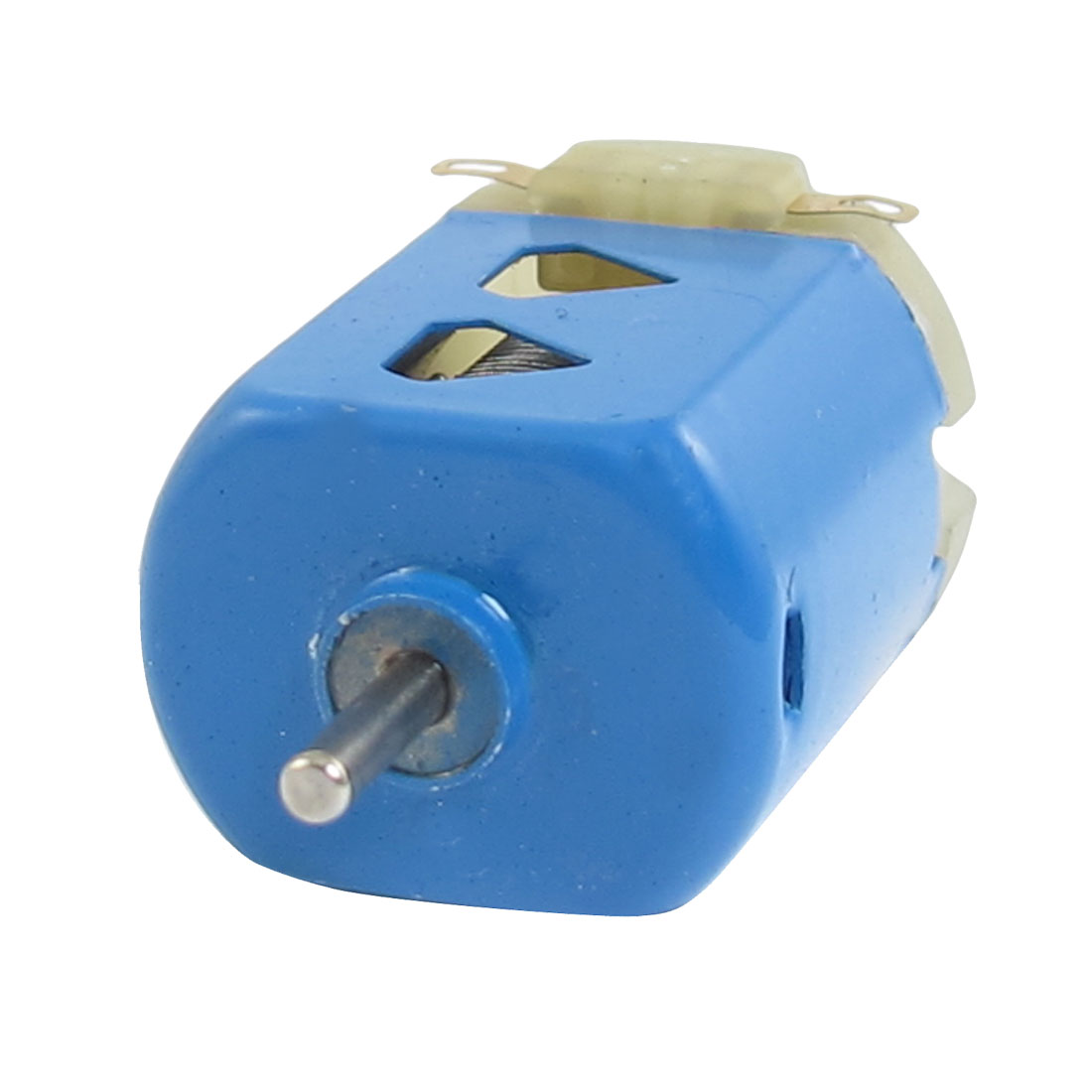 DC 1.5V 400mA 9000RPM 2mm Shaft Flat Motor 130 Blue for DIY
