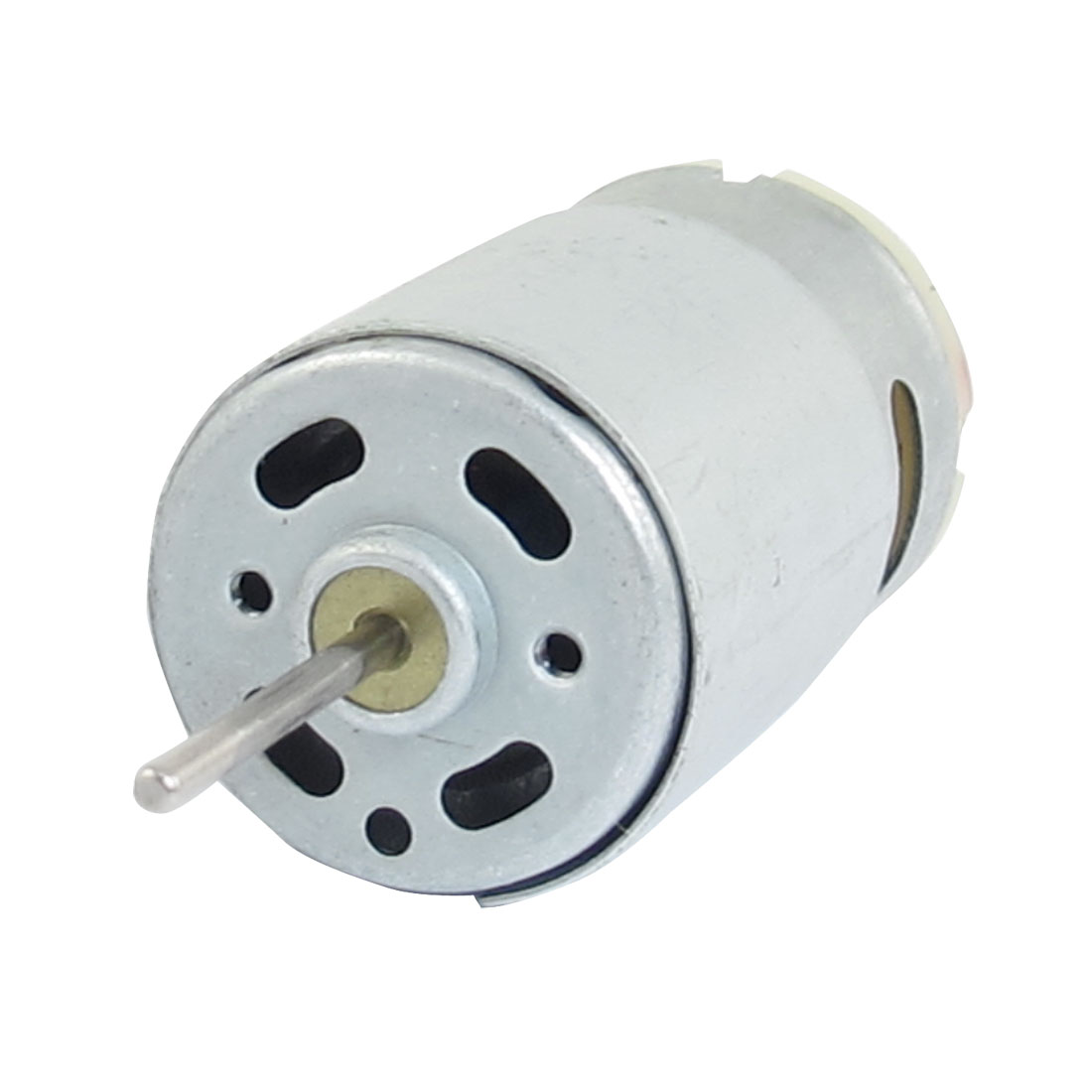24V DC 4100RPM 0.04mA Round Cylinder 390 Motor for Four-wheel Car