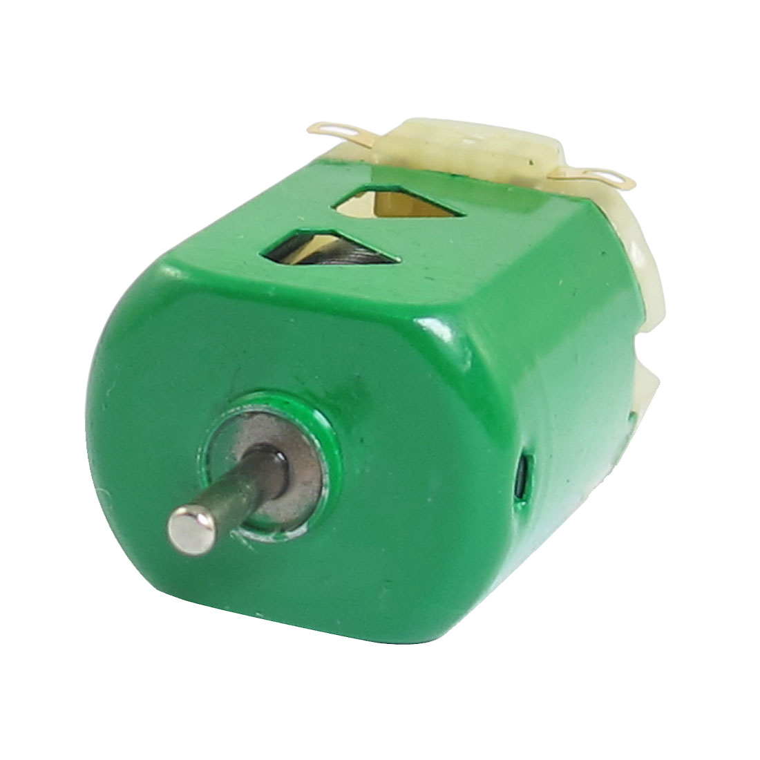 1.5V DC 9000RPM 400mA Green Flat Electric 130 Motor for Four-wheel Car
