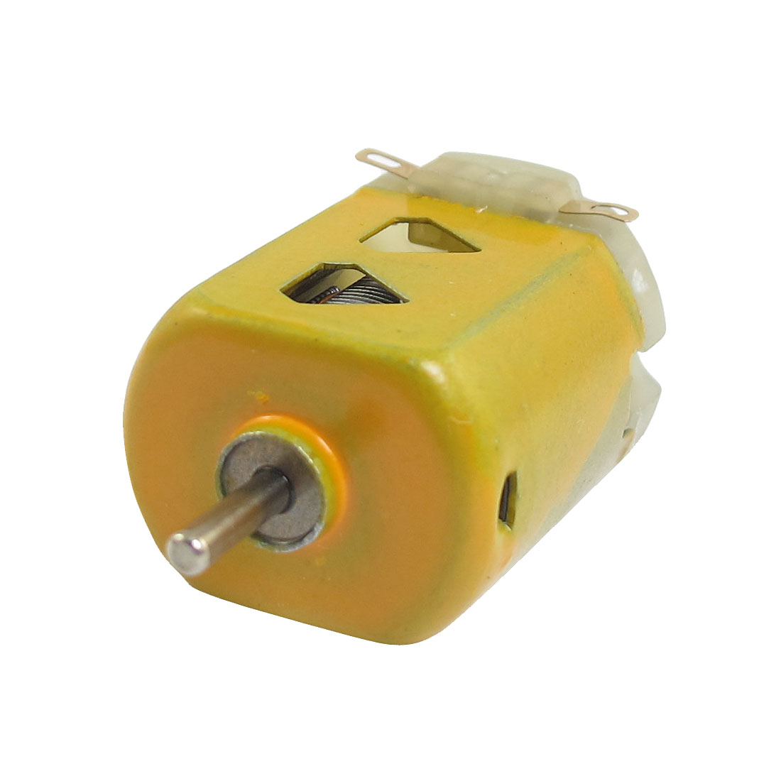 DC 1.5V 400mA 9000RPM Flat Motor 130 Yellow for DIY Robot