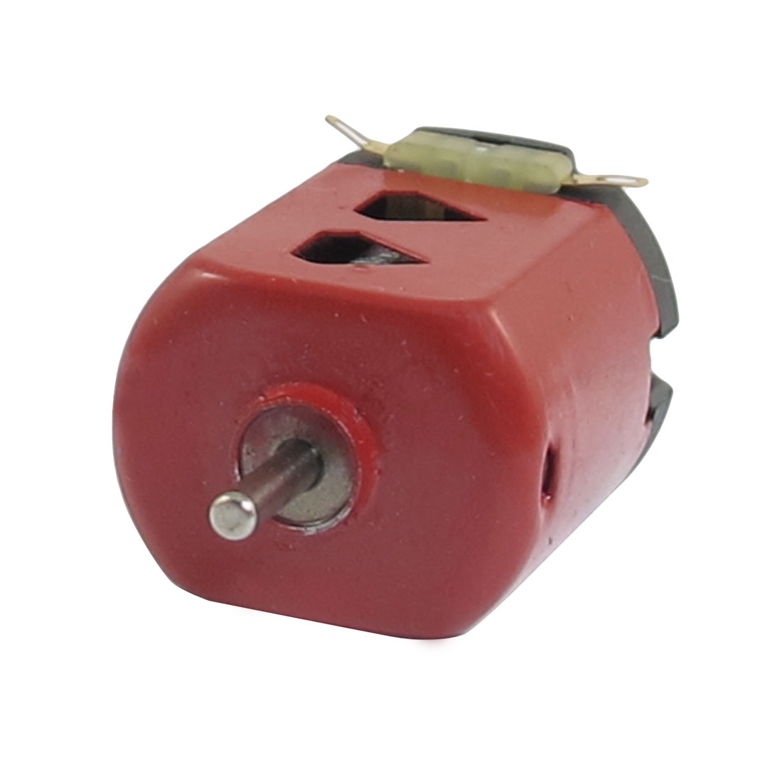 1.5V DC 9000RPM 400mA Red Black Flat Electric 130 Motor for Four-wheel Car