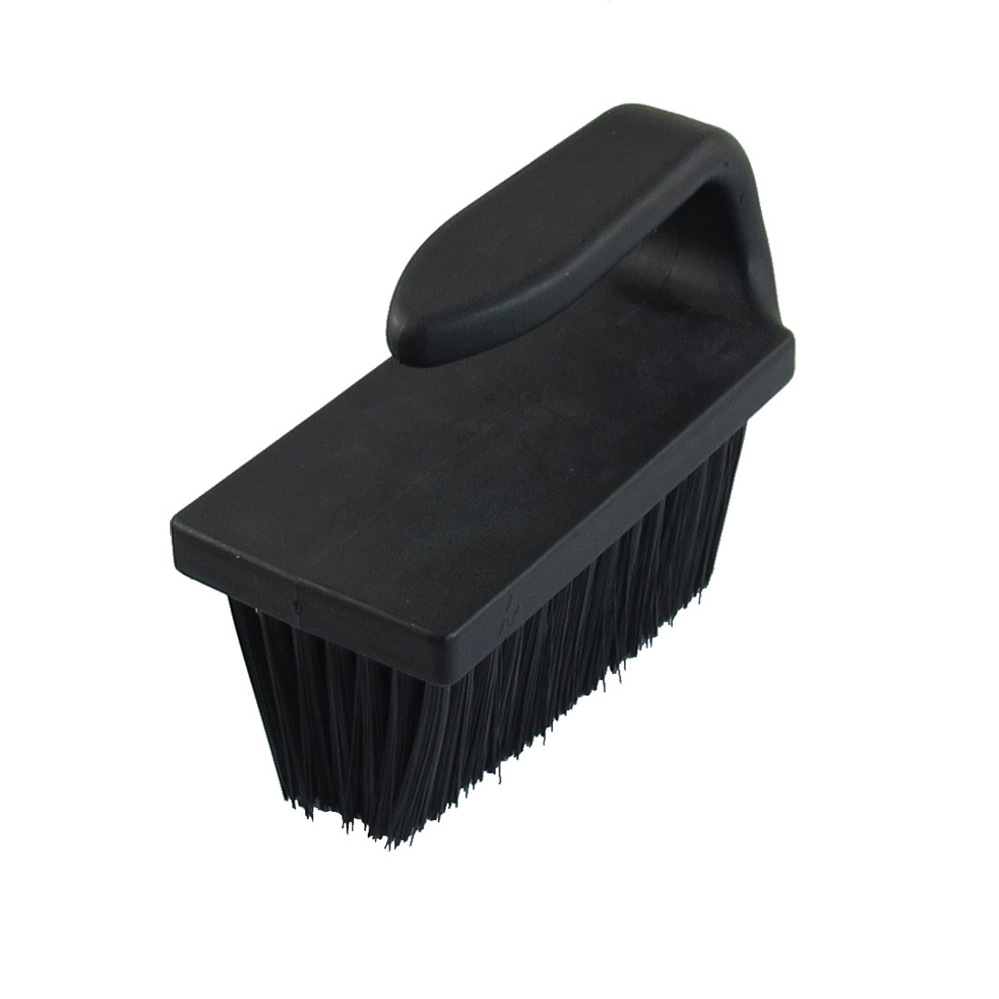 90mm x 35mm Plastic U Shape Handle Anti Static Clean Brush Black