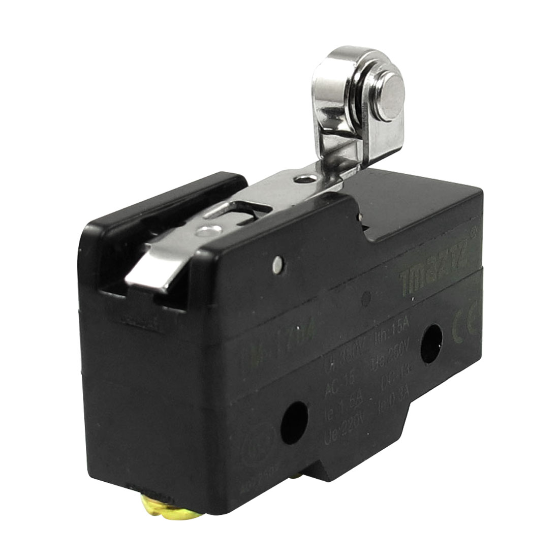 AC 380V 15A Short Hinge Roller Lever Momentary Micro Switch Microswitch