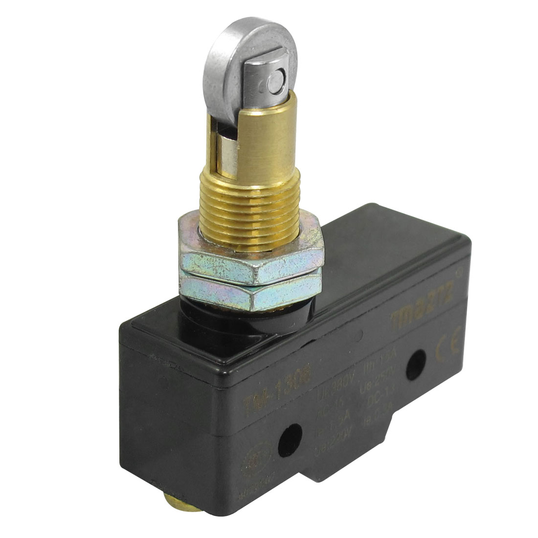AC 380V 15A Parallel Roller Plunger Enclosed Micro Switch Microswitch