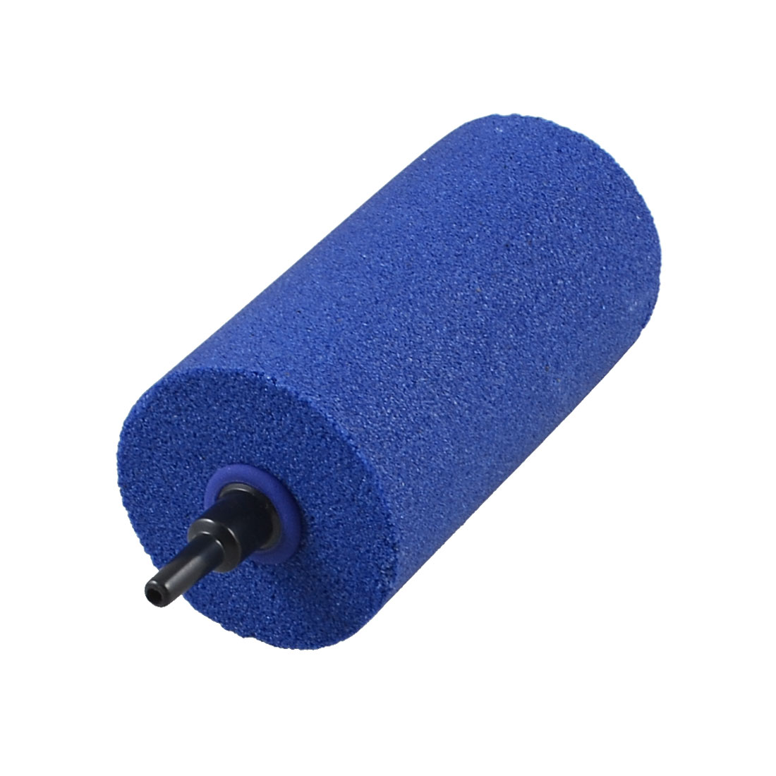 5mm Connector Blue Cylinder Aquarium Fish Tank Bubble Airstone 50mmx100mm
