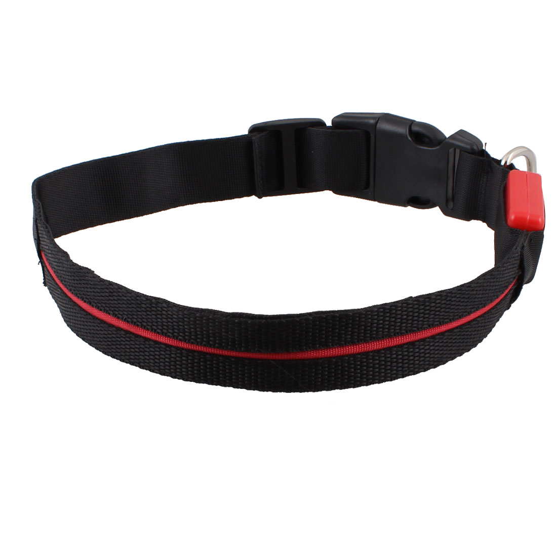 Red LED Night Safety Flash Light Up Pet Cat Dog Collar Belt 22""