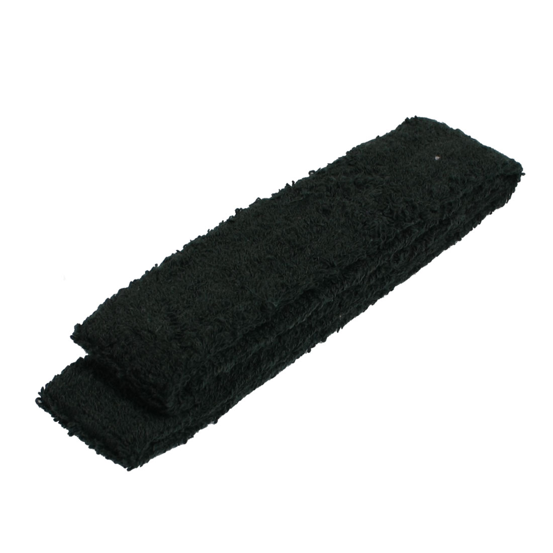 75cm Long Adhensive Tape Tennis Racket Sweat Absorption Towel Grip Black
