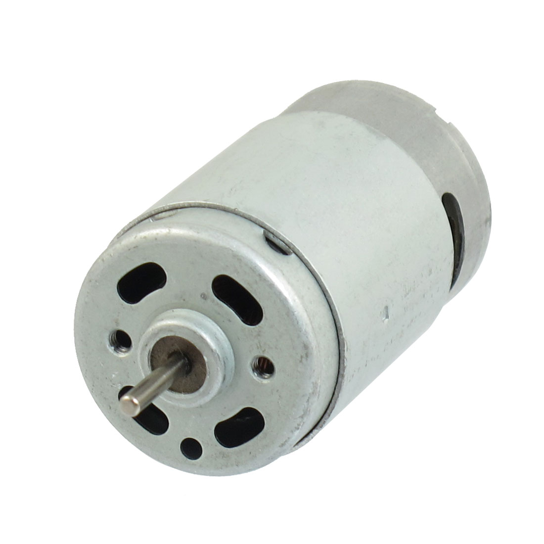 Metal Housing Round Shape Magnetic Micro Motor 16000RPM 0.7A 7.2V DC