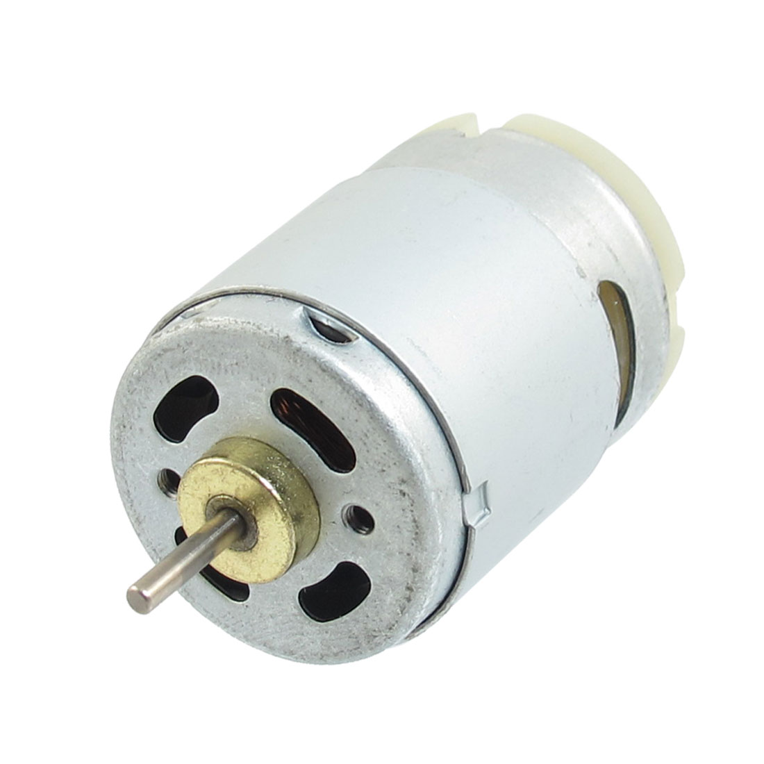 DC 12V 0.14A 9000RPM 2.3mm Dia Shaft 2 Terminals 2P Gear Motor Replacement Parts