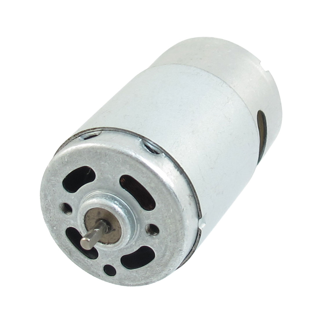 Metal Housing Round Shape Magnetic Micro Motor 9600RPM 0.08A 24V DC