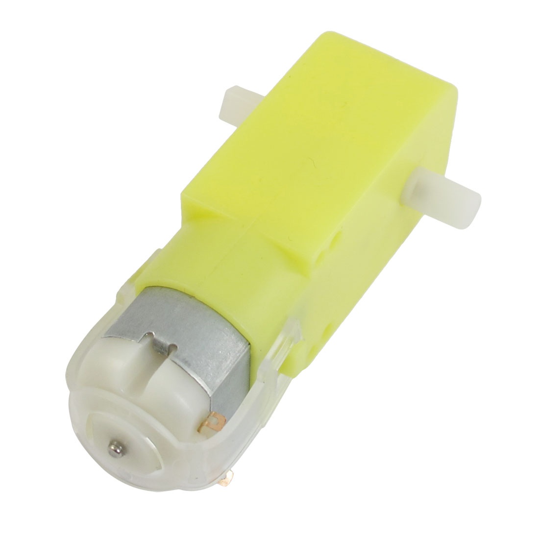 DC 6V 100RPM Yellow Double Shaft Robot Smart Car DIY Gear TT Motor for MCU