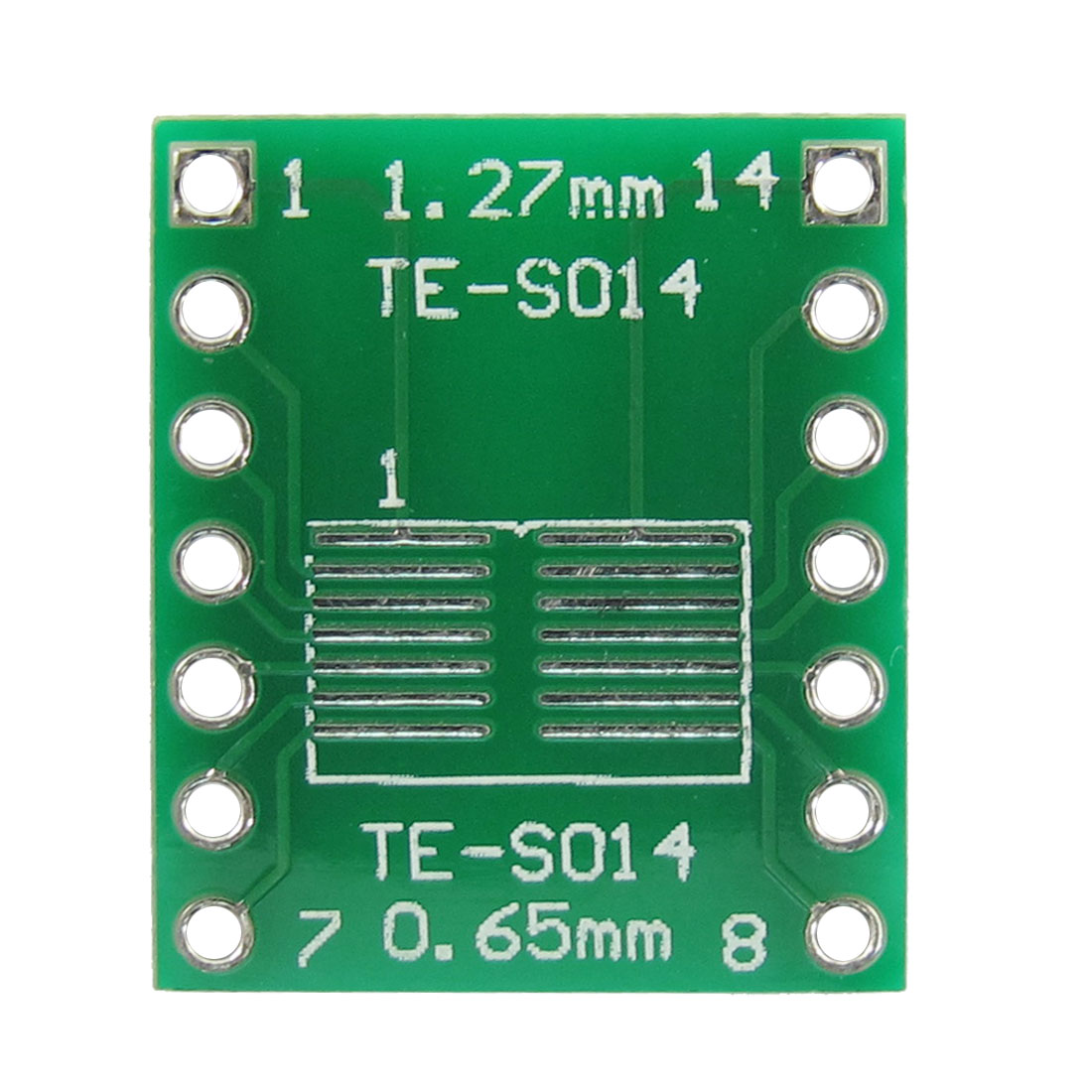 0.65mm 1.27mm Pitch Double Side TFT LCD Tester Connector Board TE-S014 5 Pcs