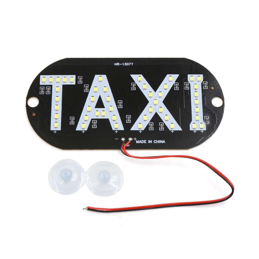 Windscreen Cab Sign White 45 LED Plate Light Lamp Bulb DC 12V for Taxi