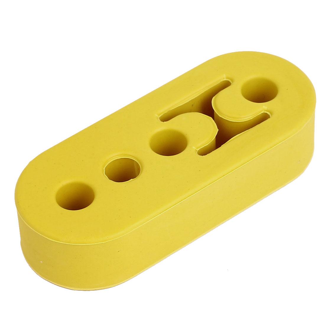 Yellow 4 Holes Race Car Muffler Exhaust Hanger Bushing