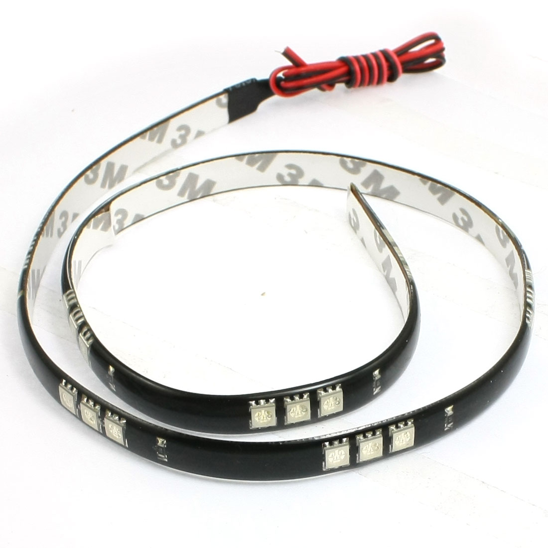 Auto Car Green 30 5051 SMD LED Light Flexible Lamp Strip 60cm
