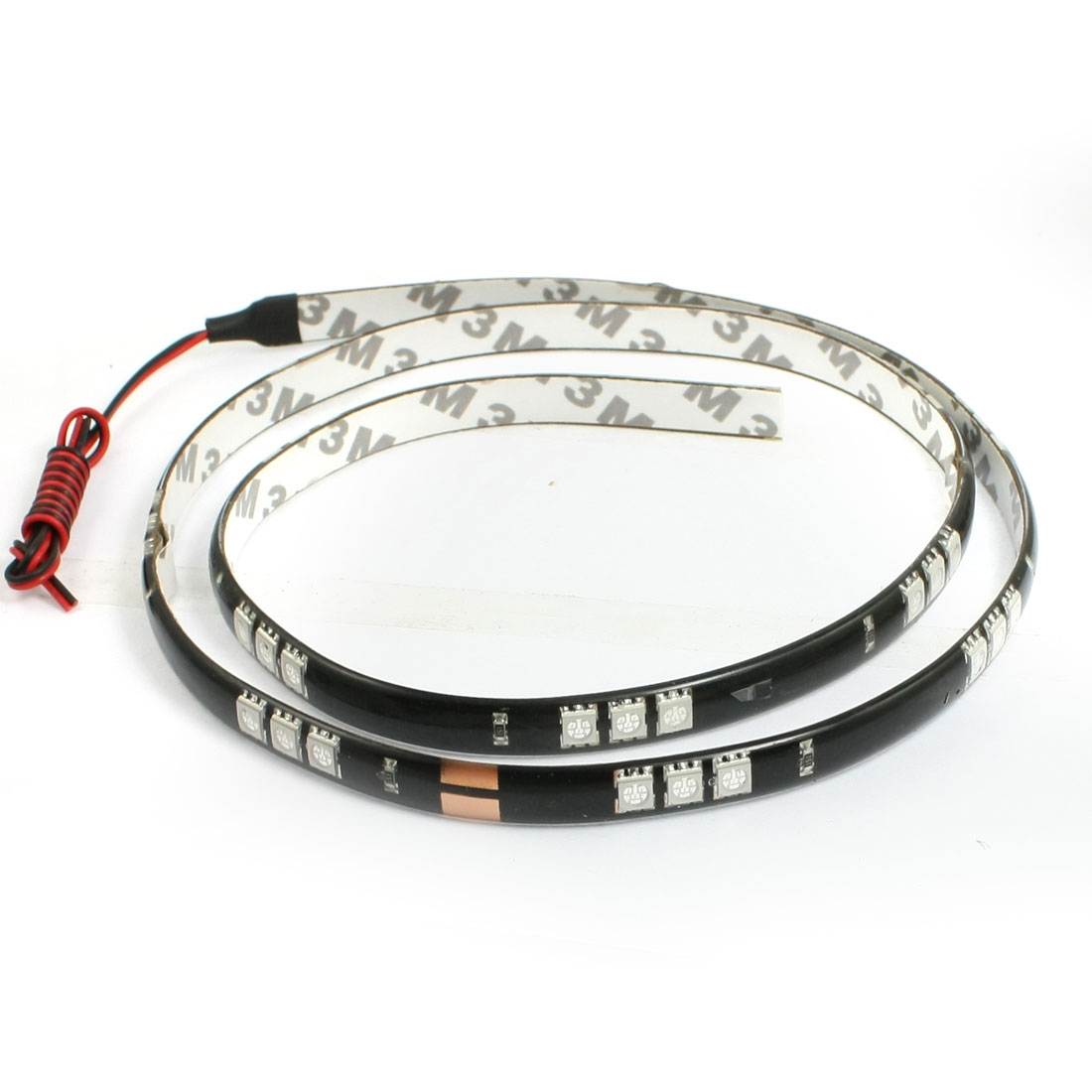 Auto Car Yellow 45 5052 SMD LED Light Flexible Lamp Strip 90cm