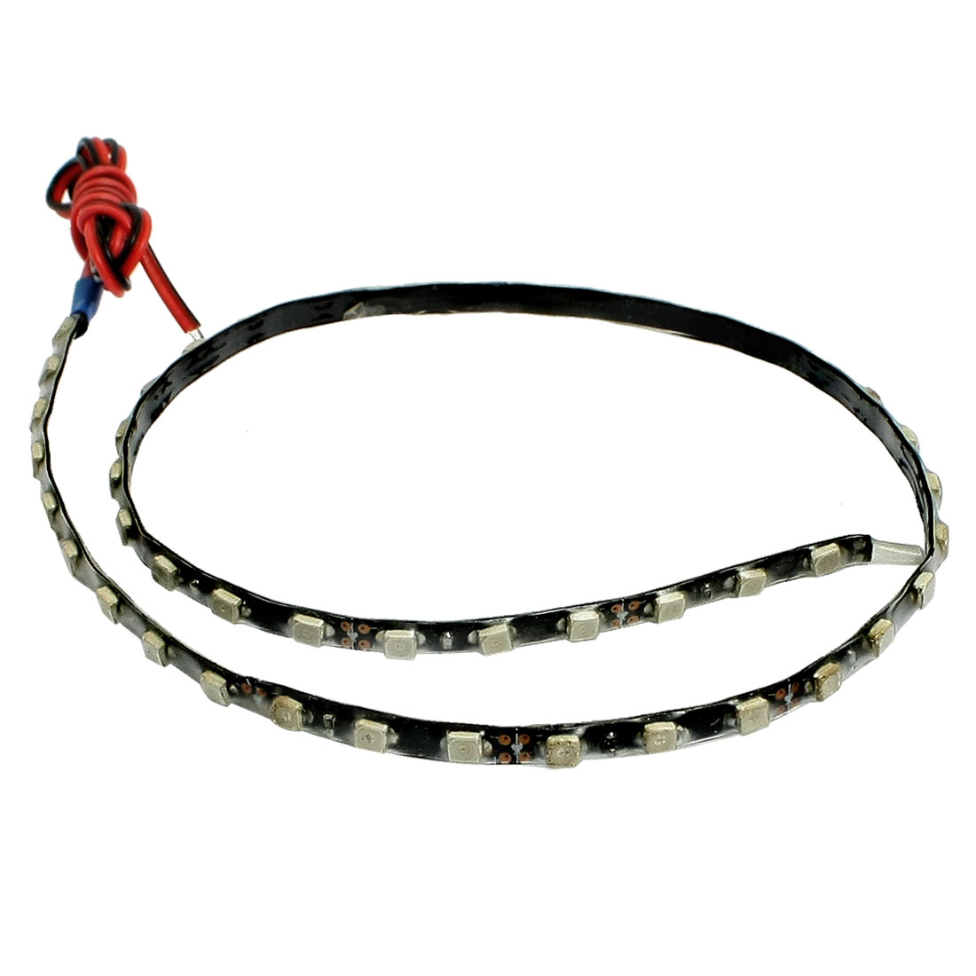 Auto Car Red 1210 3528 45-SMD LED Light Flexible Lamp Strip 45cm