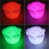 Battery Powered 6 Colors Changed Flash Rose LED Light Lamp