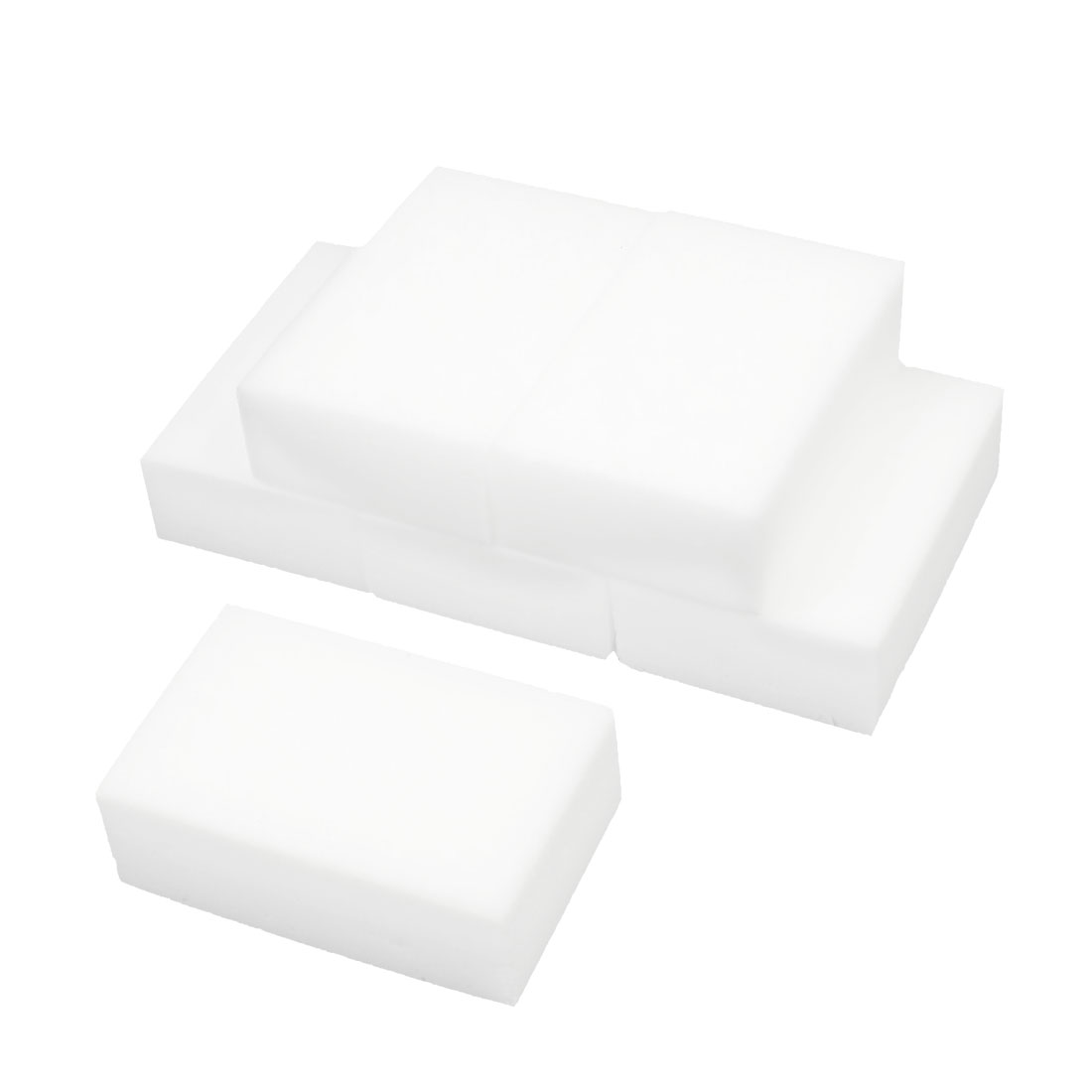 Home Furniture Office Boat Auto Car Sponge Block Cleaning Tool White 6 Pcs