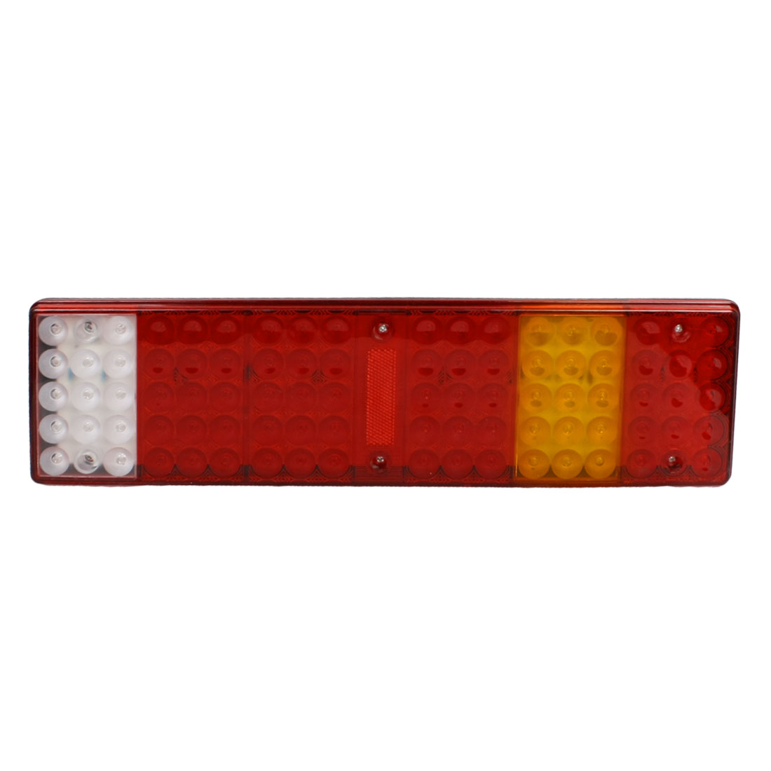 Tri Color 86 LED Trailer Truck Right Side Turn Rear Tail Light Combo Lamp