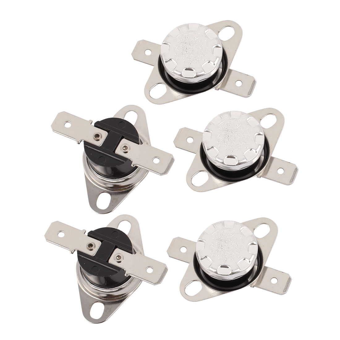 5 Pcs 105 Celsius Normal Close Temperature Controlled Switch Thermostat KSD201