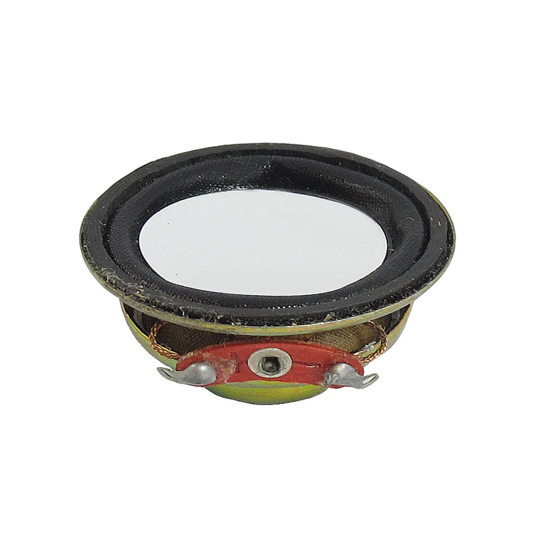 2W 2 Watt 4 Ohm 36mm Dia Aluminum Shell Internal Magnet Speaker