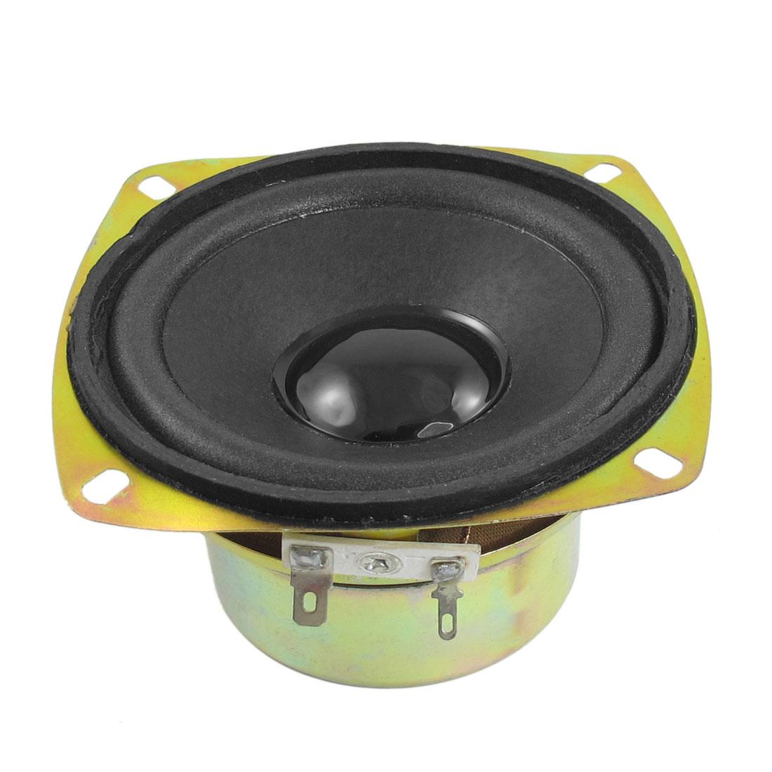 "15W 4 Ohm Aluminum Housing Round Internal Magnet Speaker 4"" Diameter"
