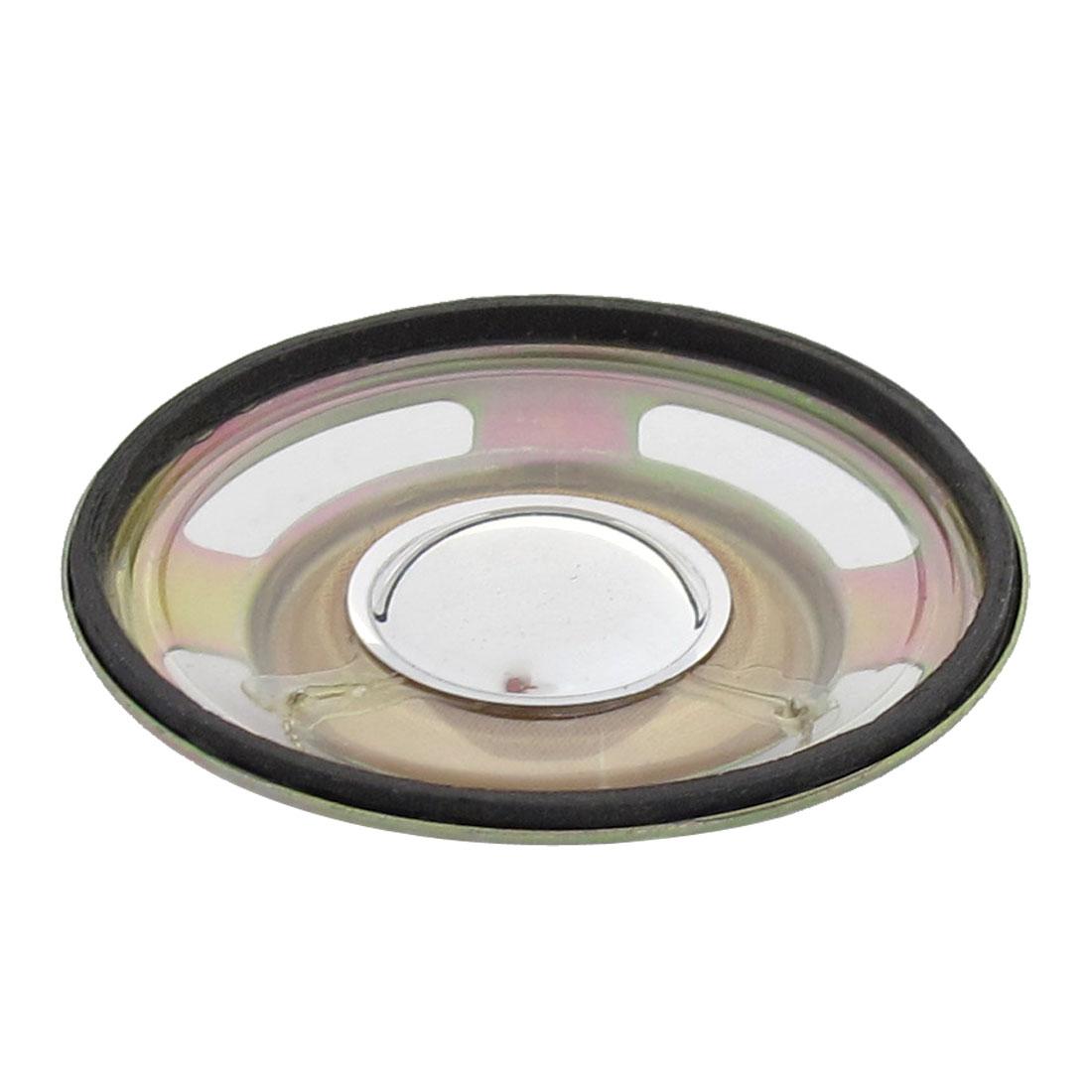 3W 4 Ohm Aluminum Housing Waterproof Internal Magnet Speaker 50mm Dia