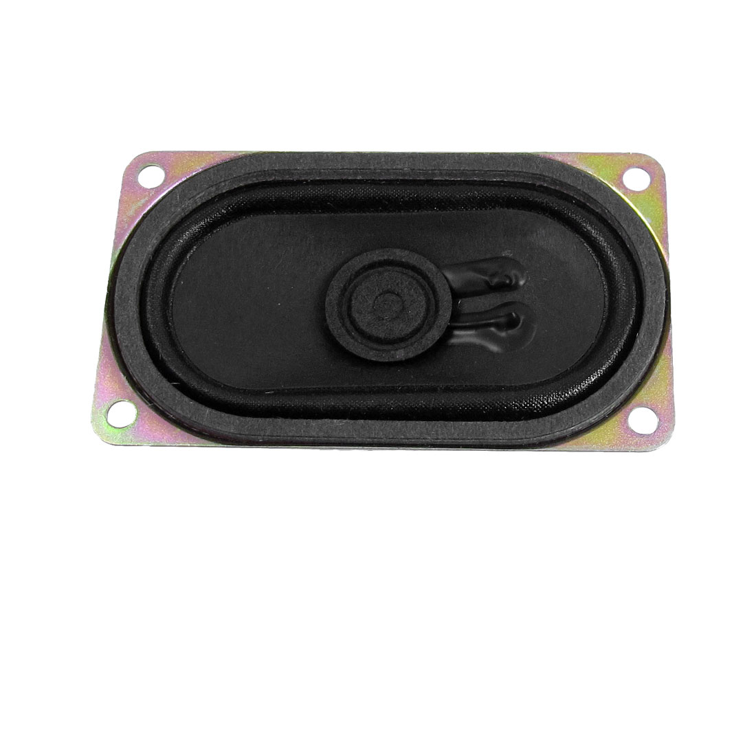 3W 4 Ohm Aluminum Housing Rectangular Internal Magnet Speaker 70mmx40mm