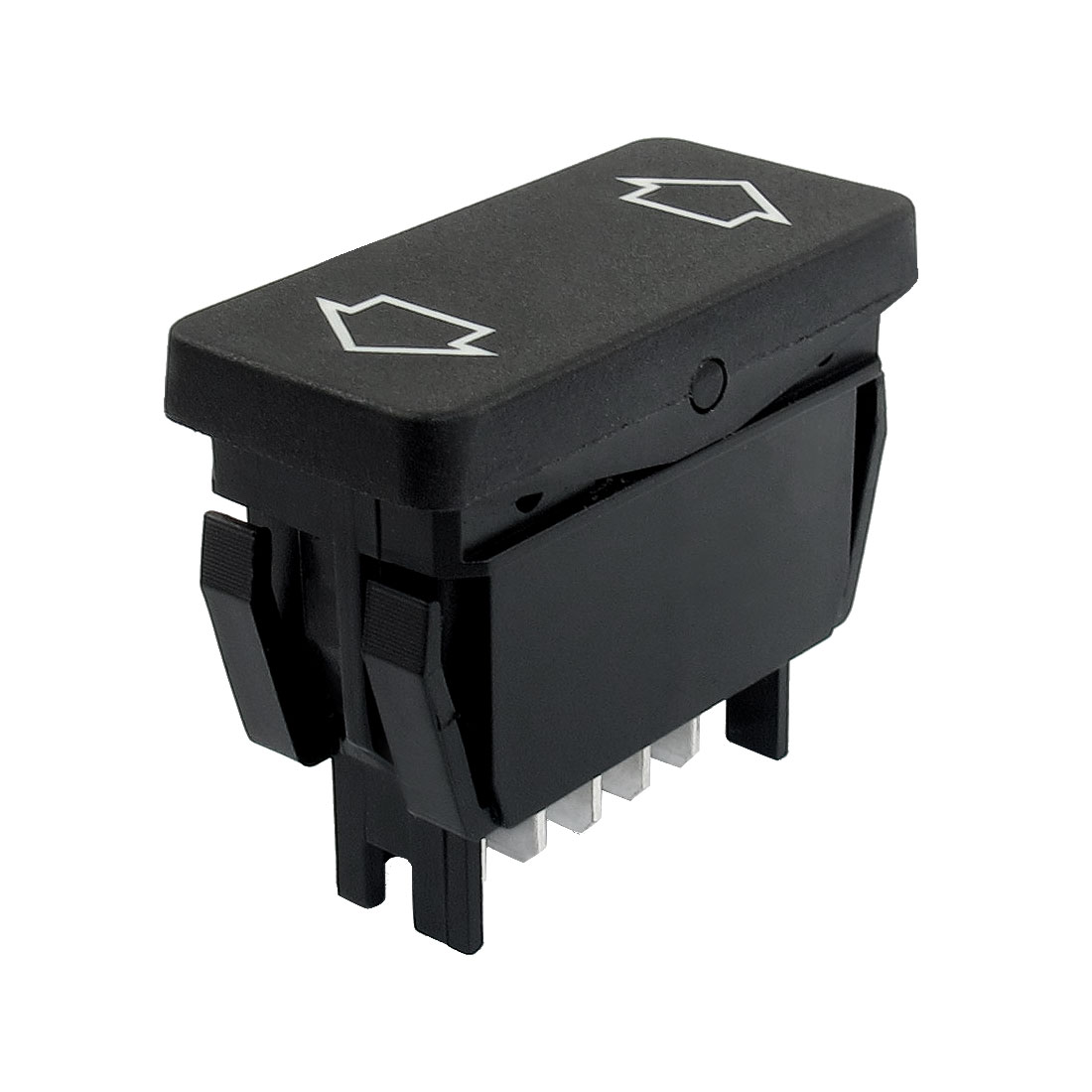 Plastic 5 Blades Power Window Switch Master Replacement Black for Car