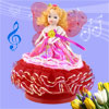 Red Fuchsia Butterfly Princess Design Wind up Clockwork Music Box Fur Elise