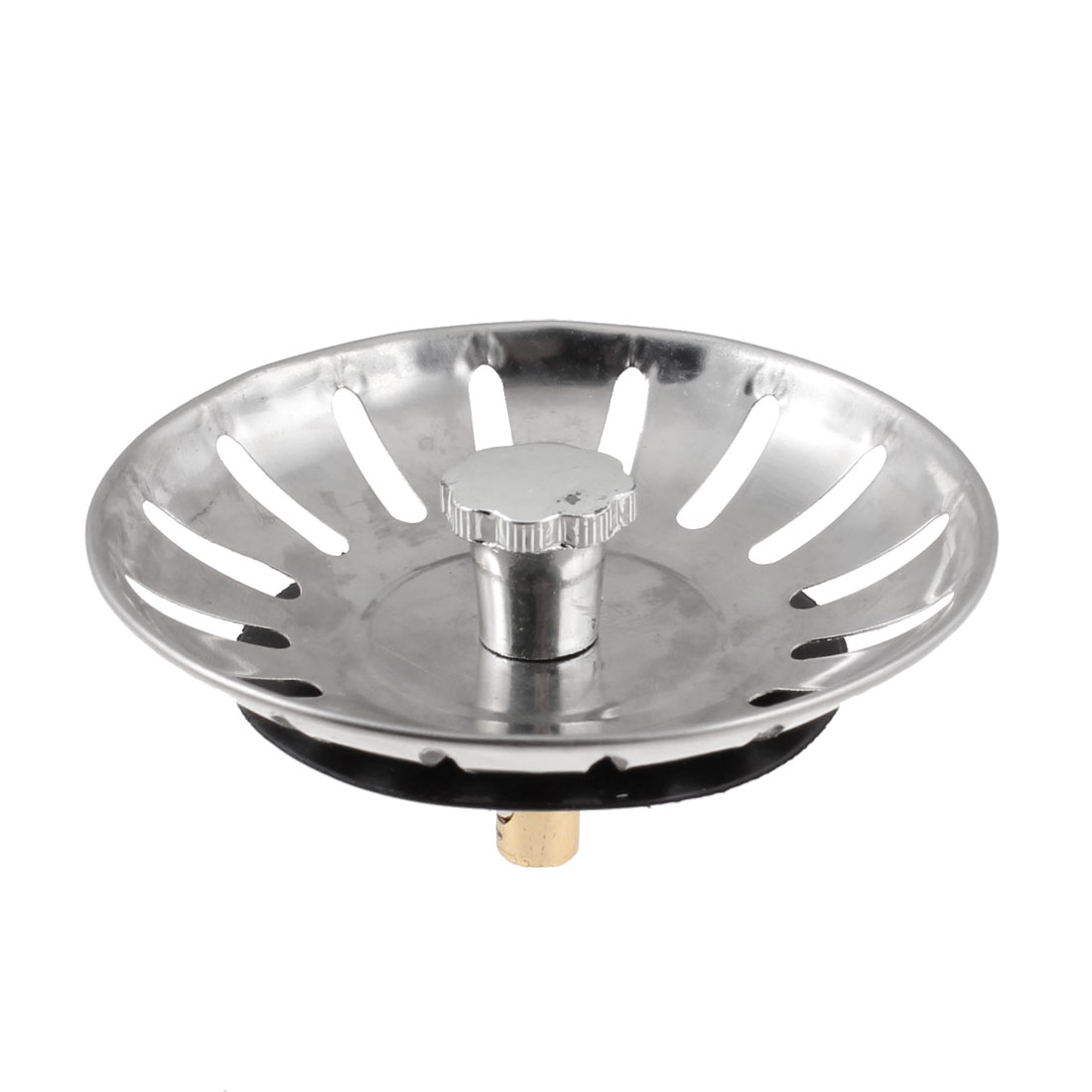 Kitchen 16 Holes Flexstem Basket Sink Strainer Drain Garbage Stopper