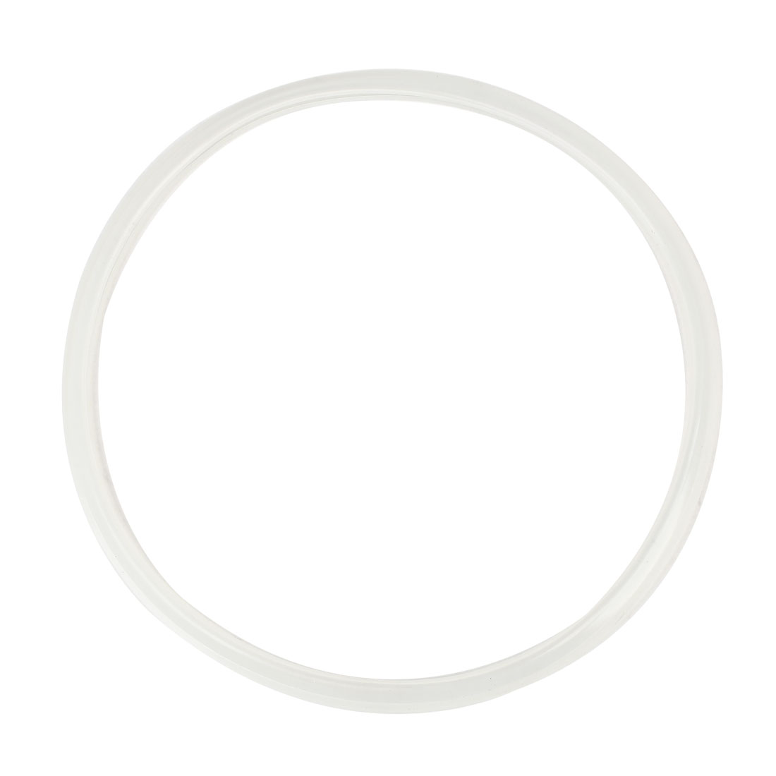 Clear White Round Pressure Cooker Rubber Sealing Ring 28cm x 31cm