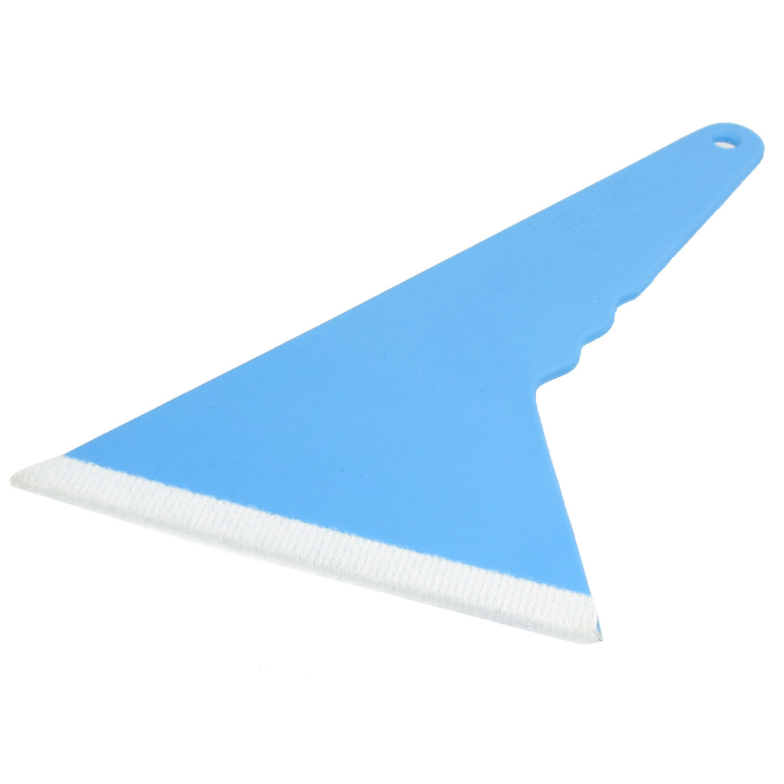Blue Car Auto Window Windshield White Foam Tint Film Scraper