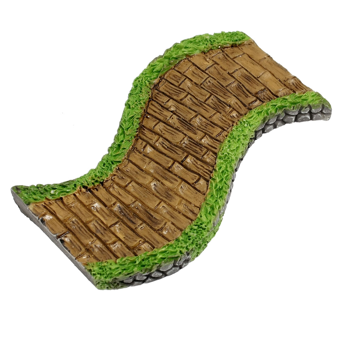 Fish Tank Landscape Moss Pathway Alley Shaped Aquarium Craft ...