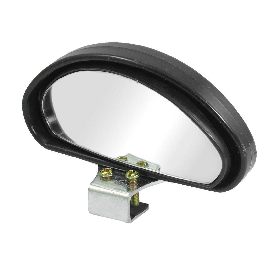 100mmx45mm Black Arch Wide Angle Rearview Blindspot Mirror for Car Truck