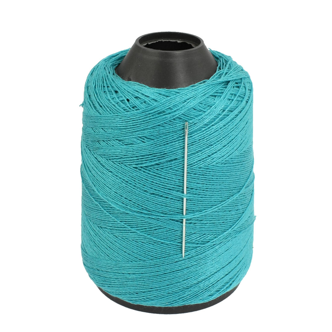 1 Roll Tailor Stitching Line Cotton Sewing Thread Reel Spool Turquoise w Needle