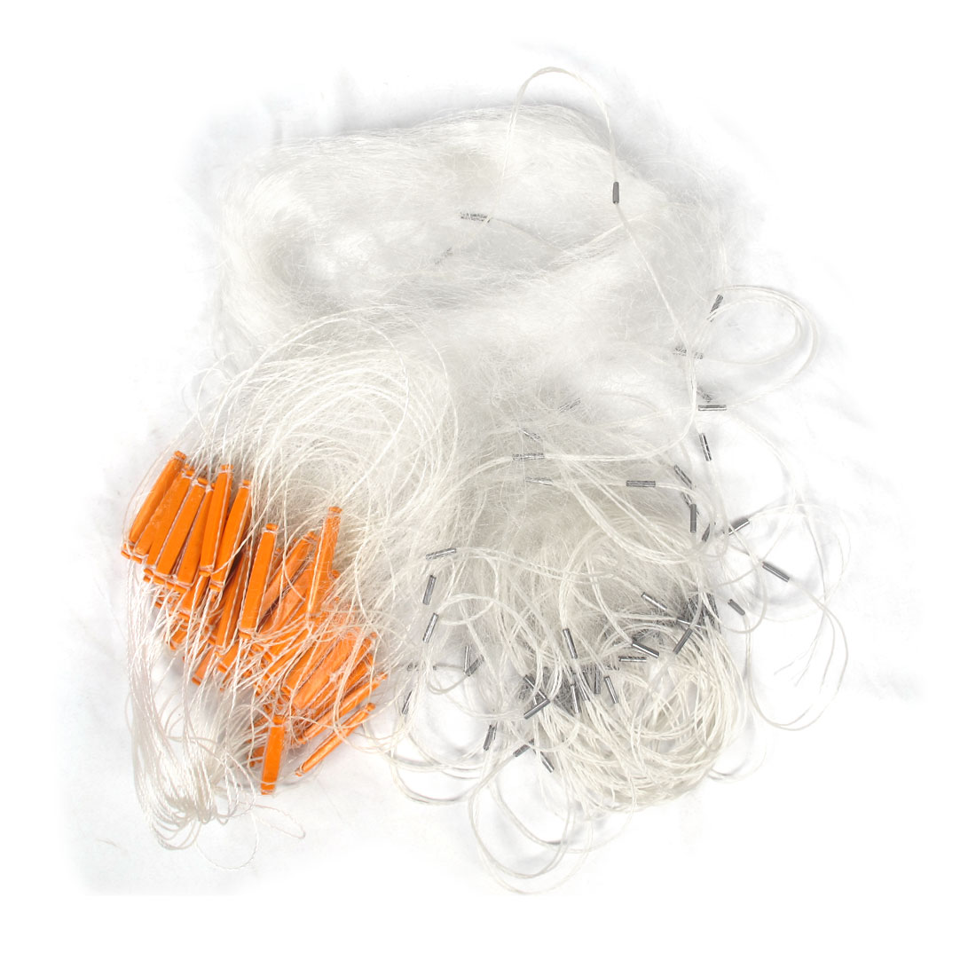 Clear White Orange Fishing Fish 40M x 1.2M Monofilament Gill Net
