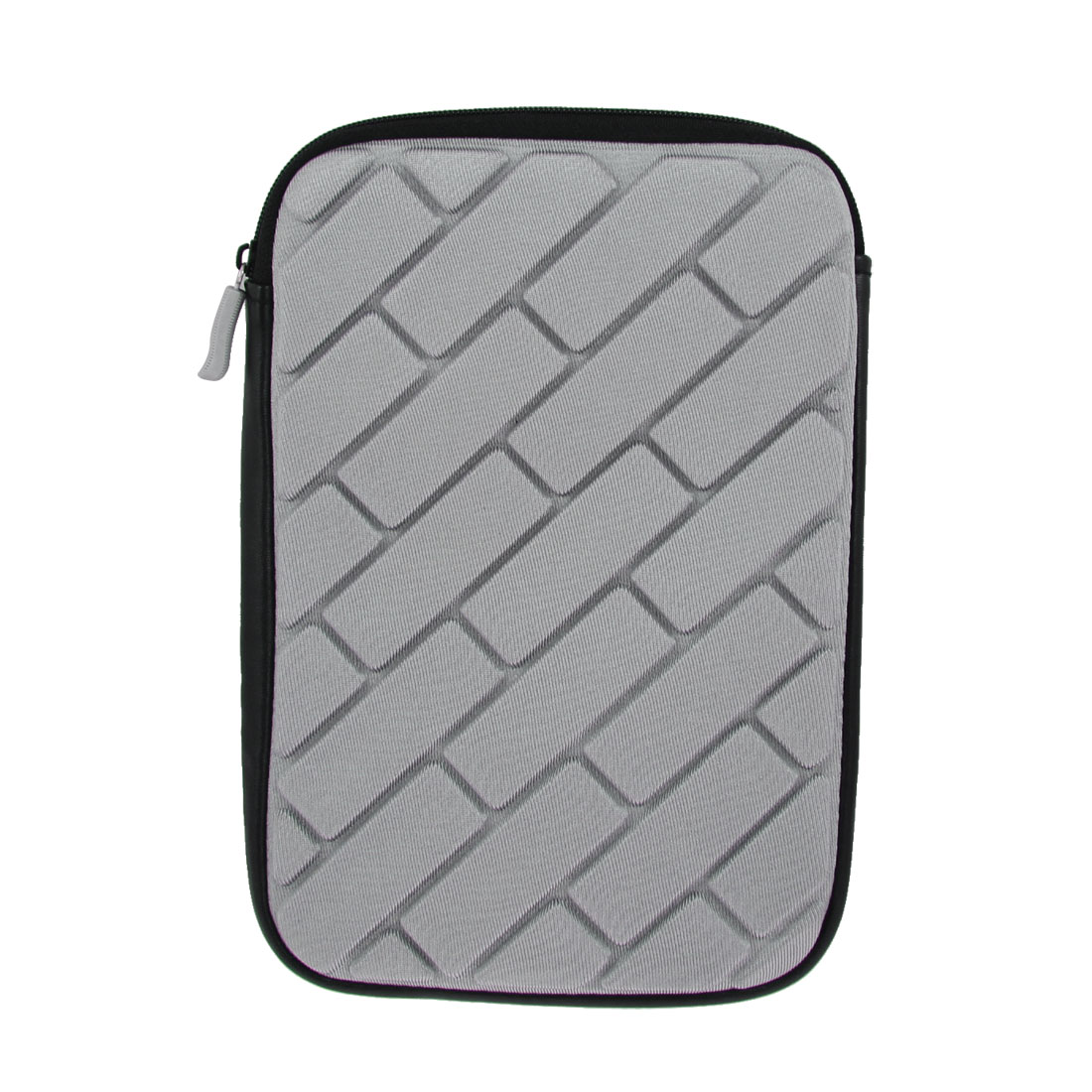 "7"" Tablet Gray Sponge Sleeve Bag Case Pouch"