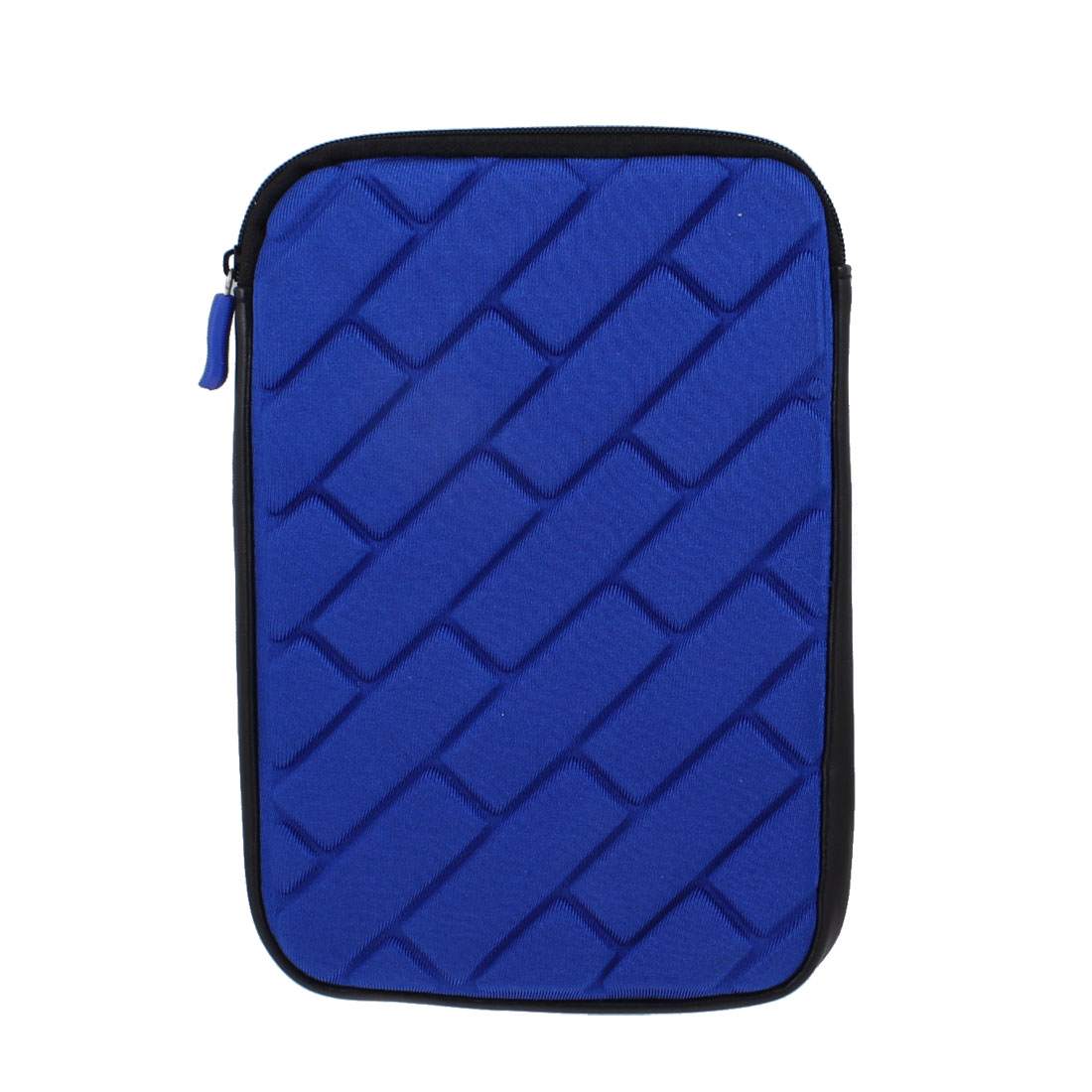 "7"" Tablet Zip up Sleeve Bag Case Cover Pouch Blue for Android 4.0"
