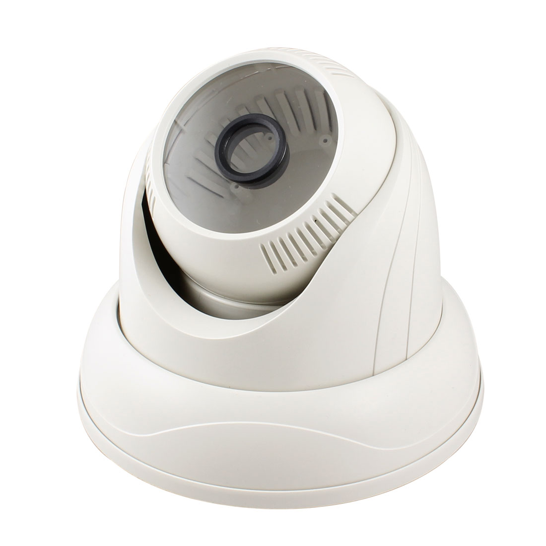 "White 5.5"" Dia Housing Case for Security CCTV CCD Dome Camera"