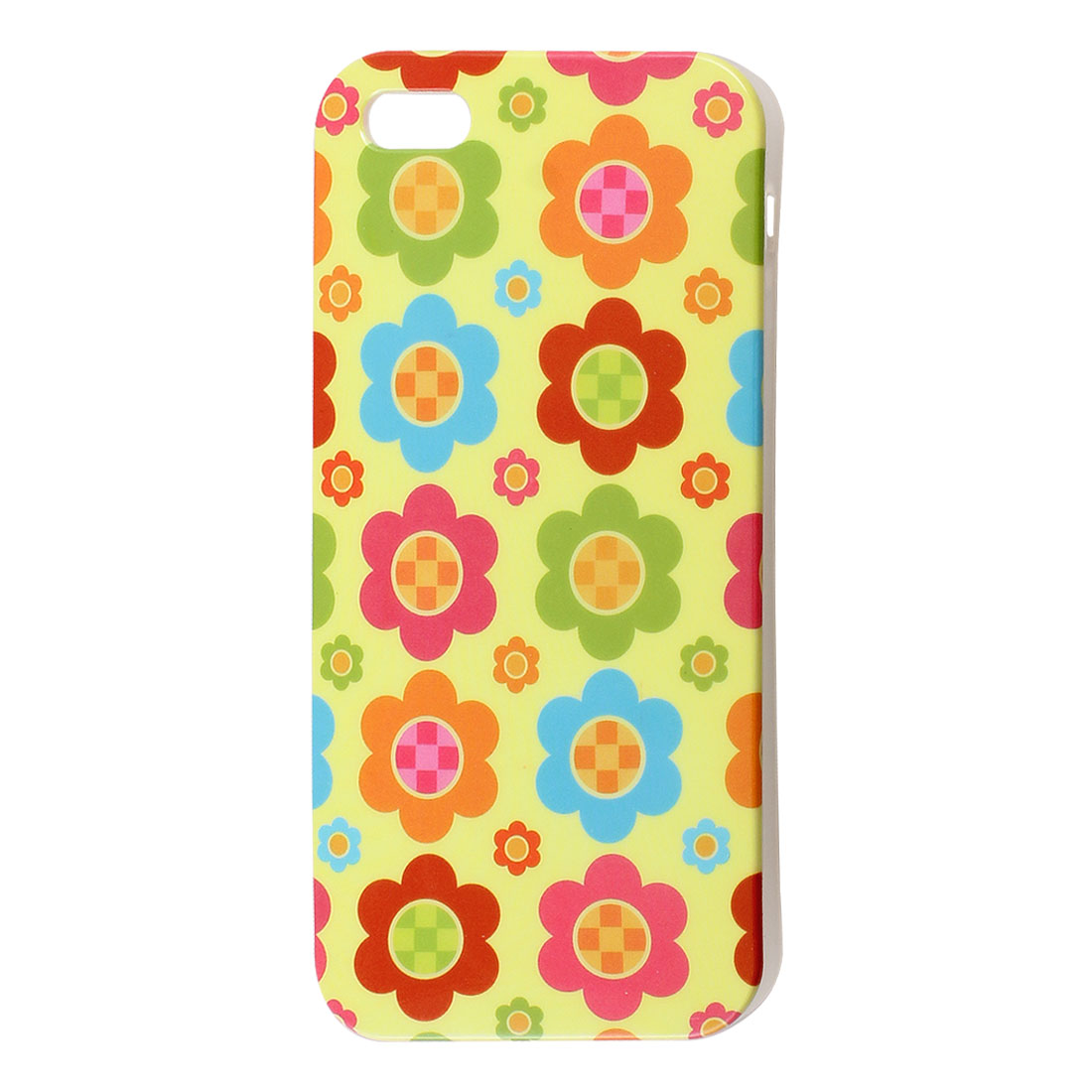 Multicolor Flowers TPU Phone Case Cover for Apple iPhone 5 5G